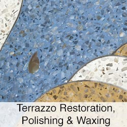 Terrazzo Restoration, Polishing and Waxing
